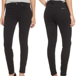 7 For all Mankind The High Waist Skinny Jeans 25